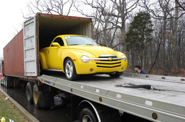 Shipping cars, international removal